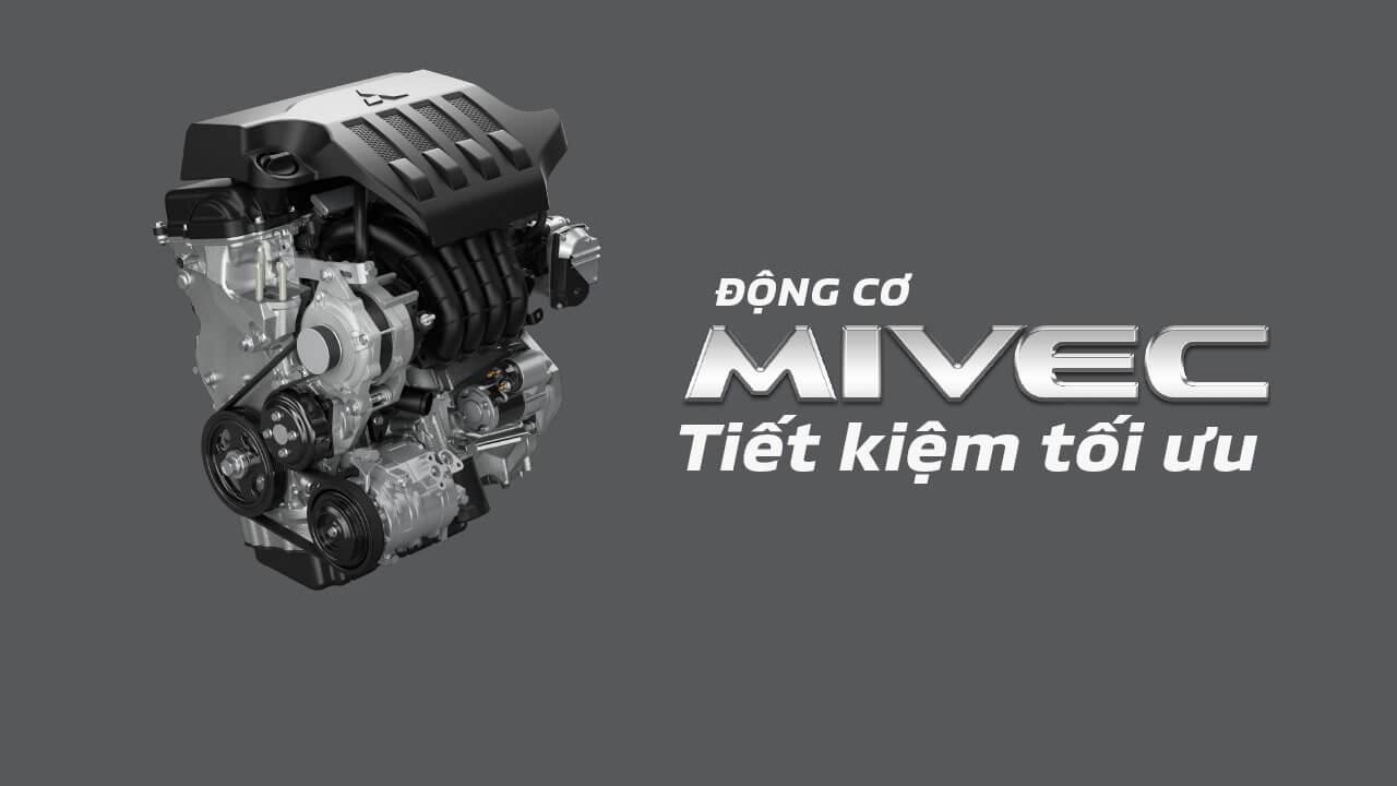 Động cơ MIVEC tiết kiệm nhiên liệu