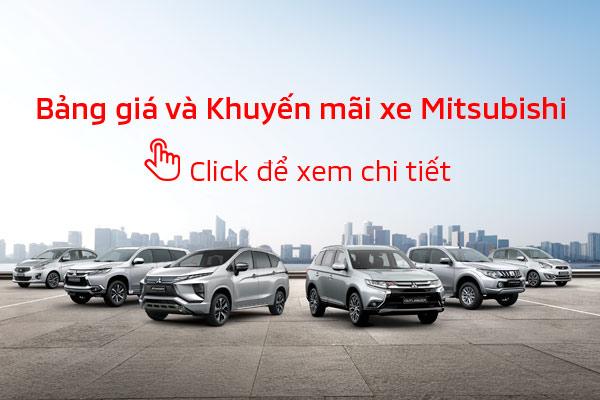 Bảng giá xe Mitsubishi Tháng 06/2019 tại Mitsubishi Hà Tĩnh