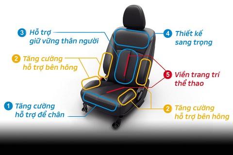 Ghế ngồi cao cấp