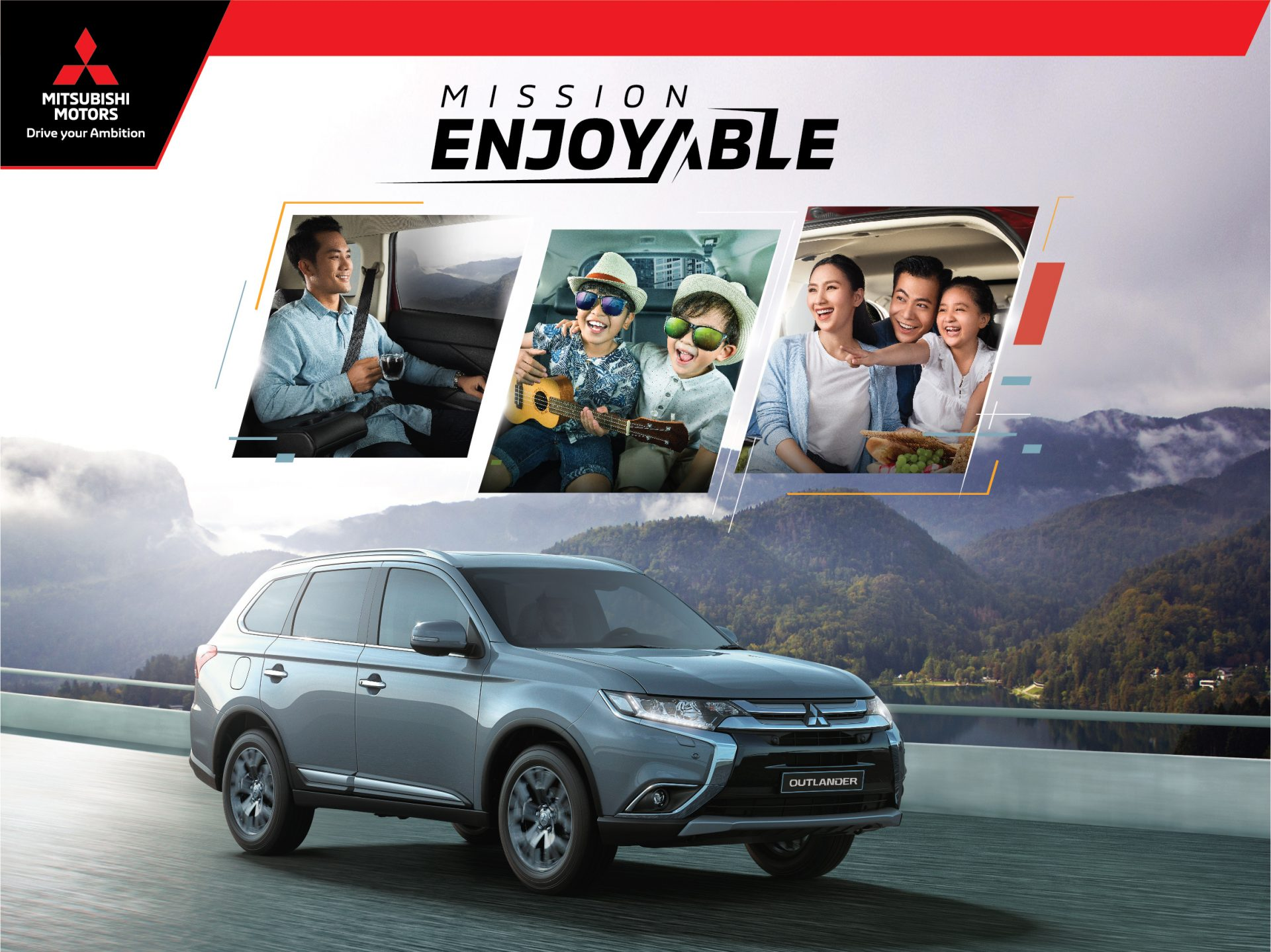 Hành trình Caravan – Tận hưởng trong niềm vui thích cùng Mitsubishi Outlander