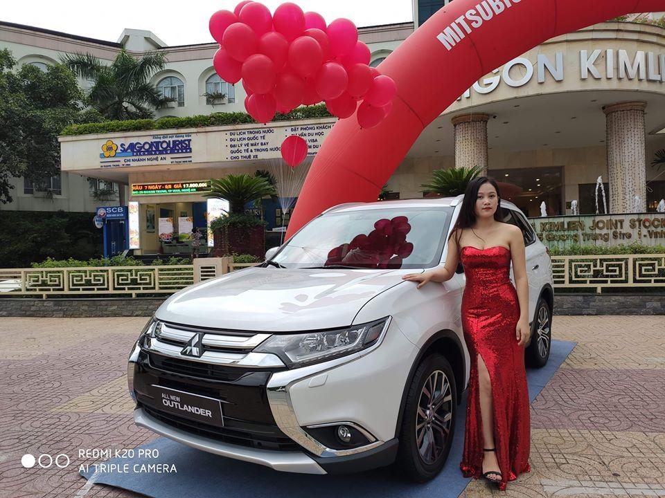 Thông số kỹ thuật, hình ảnh, giá bán lăn bánh Mitsubishi Outlander tại Hà Tĩnh