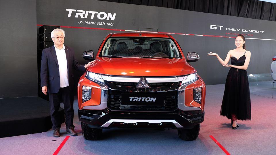 Mitsubishi Triton 2020 – Nâng cấp toàn diện, An toàn vượt trội !