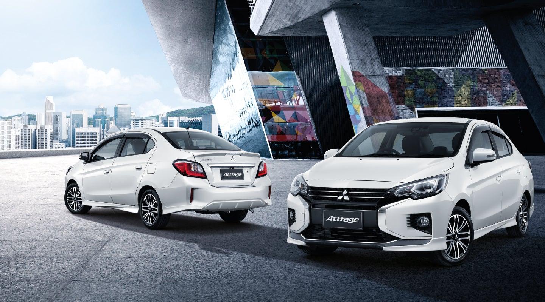 Lộ diện nội, ngoại thất Attrage 2020. Mẫu Sedan Nhập khẩu duy nhất, giá tốt nhất phân khúc!