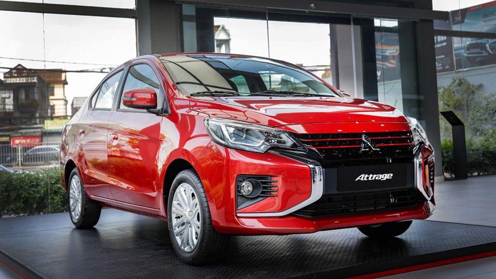 Đánh giá xe Sedan 5 chỗ Mitsubishi Attrage 2020