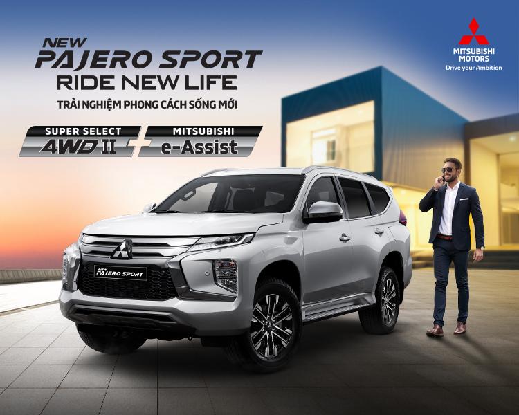 Mitsubishi Pajero Sport 2020 chính thức ra mắt tại Mitsubishi Kim Liên Hà Tĩnh – Lột xác toàn diện, quyết đấu Toyota Fortuner